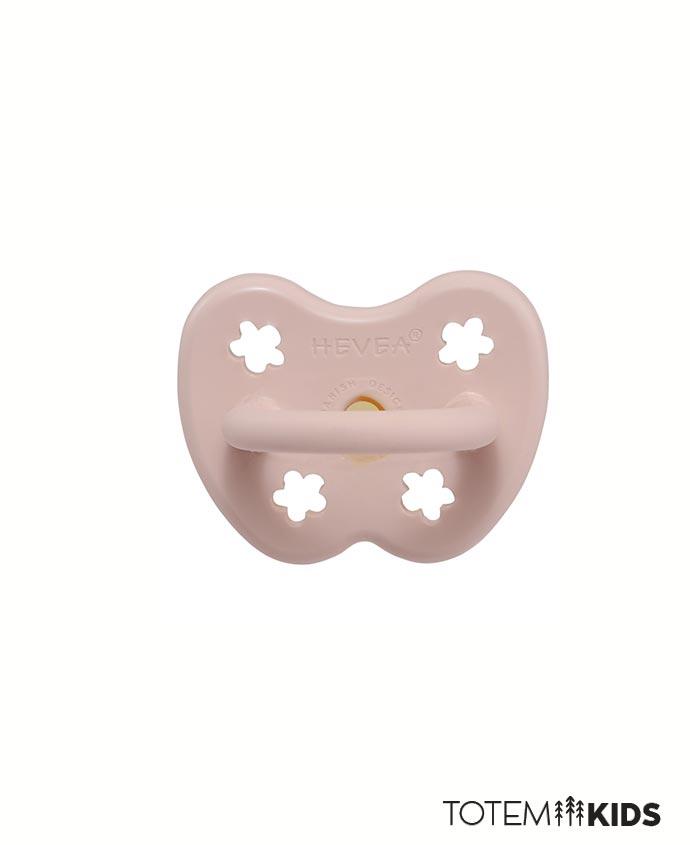 Chupete de caucho ortodoncia Powder Pink