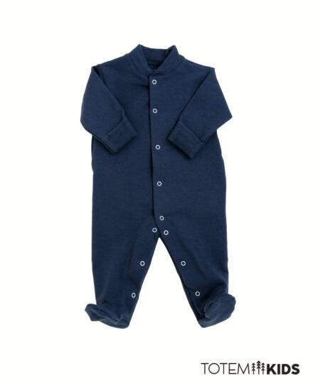 Enterito Algodón Bebé Azul